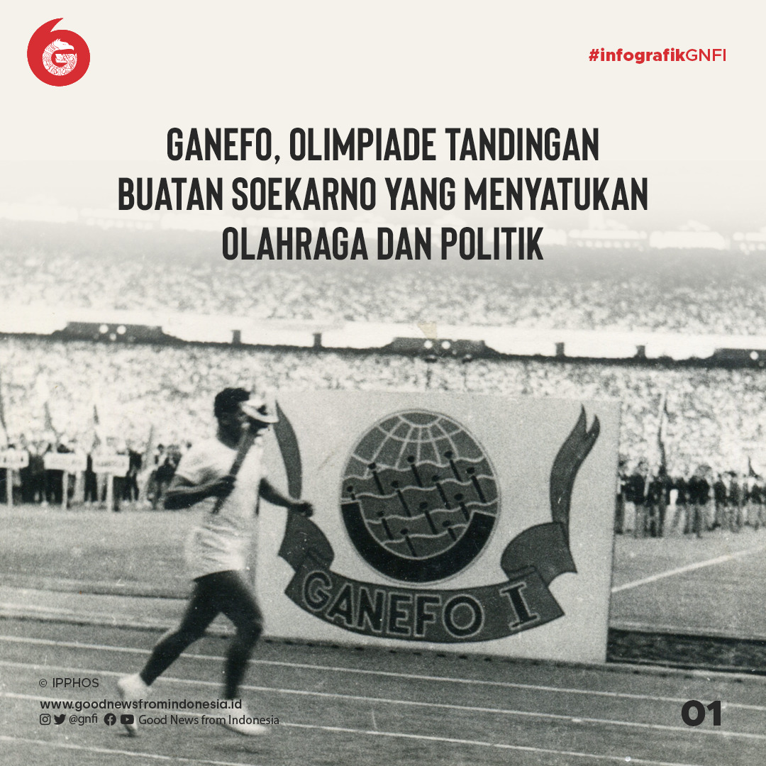 Ganefo, Olimpiade Tandingan Ciptaan Soekarno yang Menyatukan Olahraga dan Politik | Good News From Indonesia
