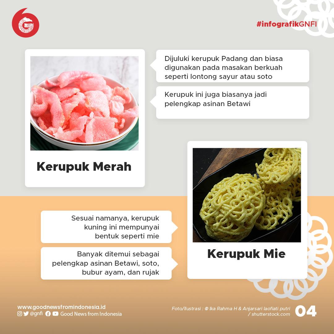 8 Jenis Kerupuk Tradisional Indonesia untuk Pelengkap Makanan dan Camilan