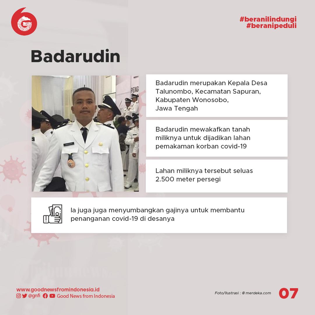 Beberapa Tokoh Inspiratif Penanganan Wabah COVID-19 di Indonesia