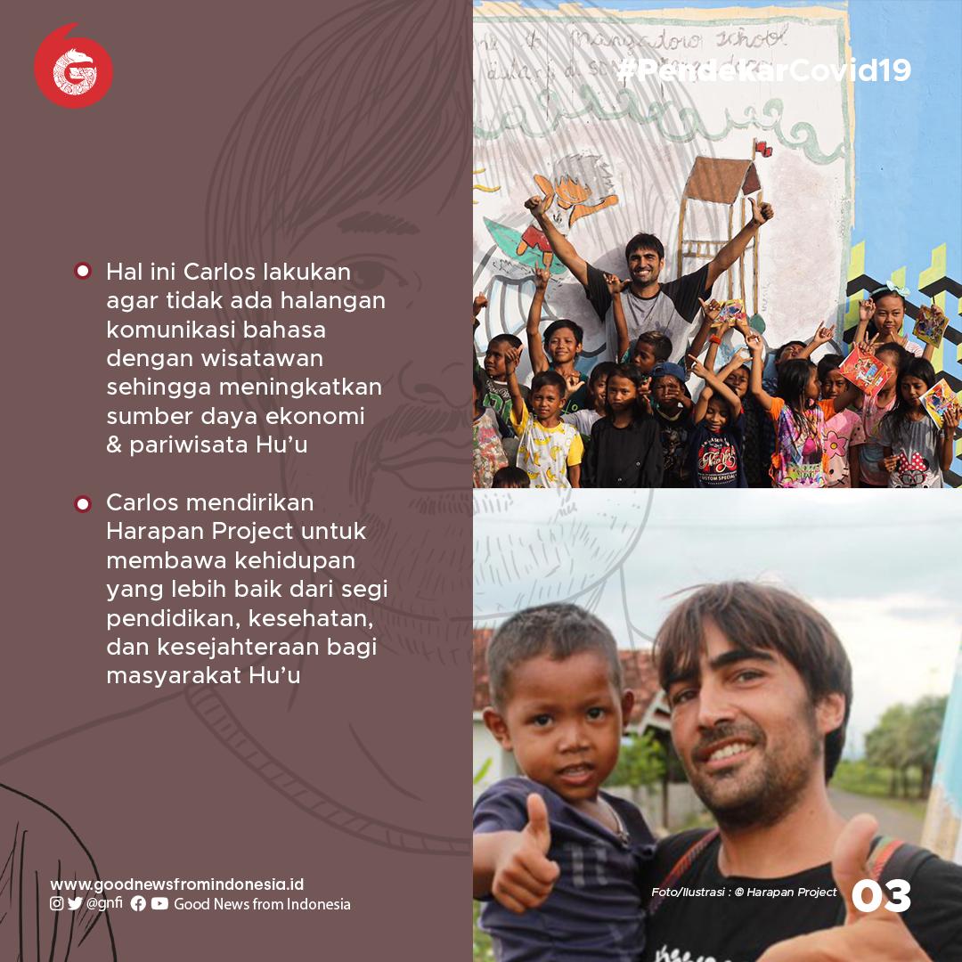 Carlos Ferrandiz, Penjamin Kehidupan Masyarakat Hu'u di Sumbawa