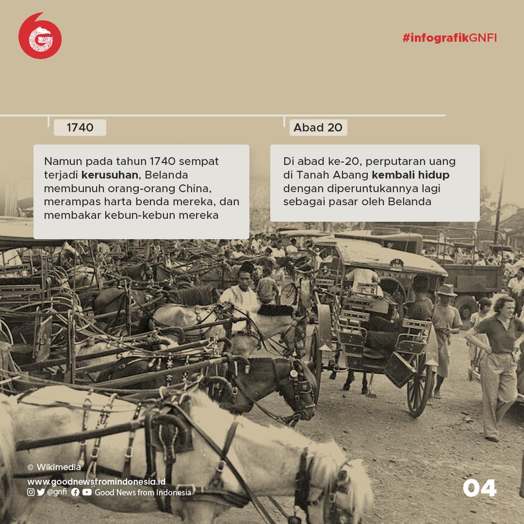 Sejarah Pasar Tanah Abang, Tempat Bandar Kambing hingga Lokasi Perdagangan Tekstil  Terbesar di Asia Tenggara