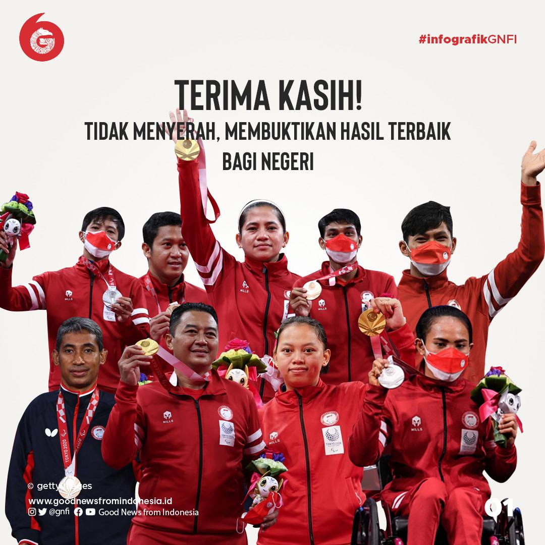 Terima Kasih untuk Para Atlet Indonesia di Ajang Paralimpiade Tokyo 2020