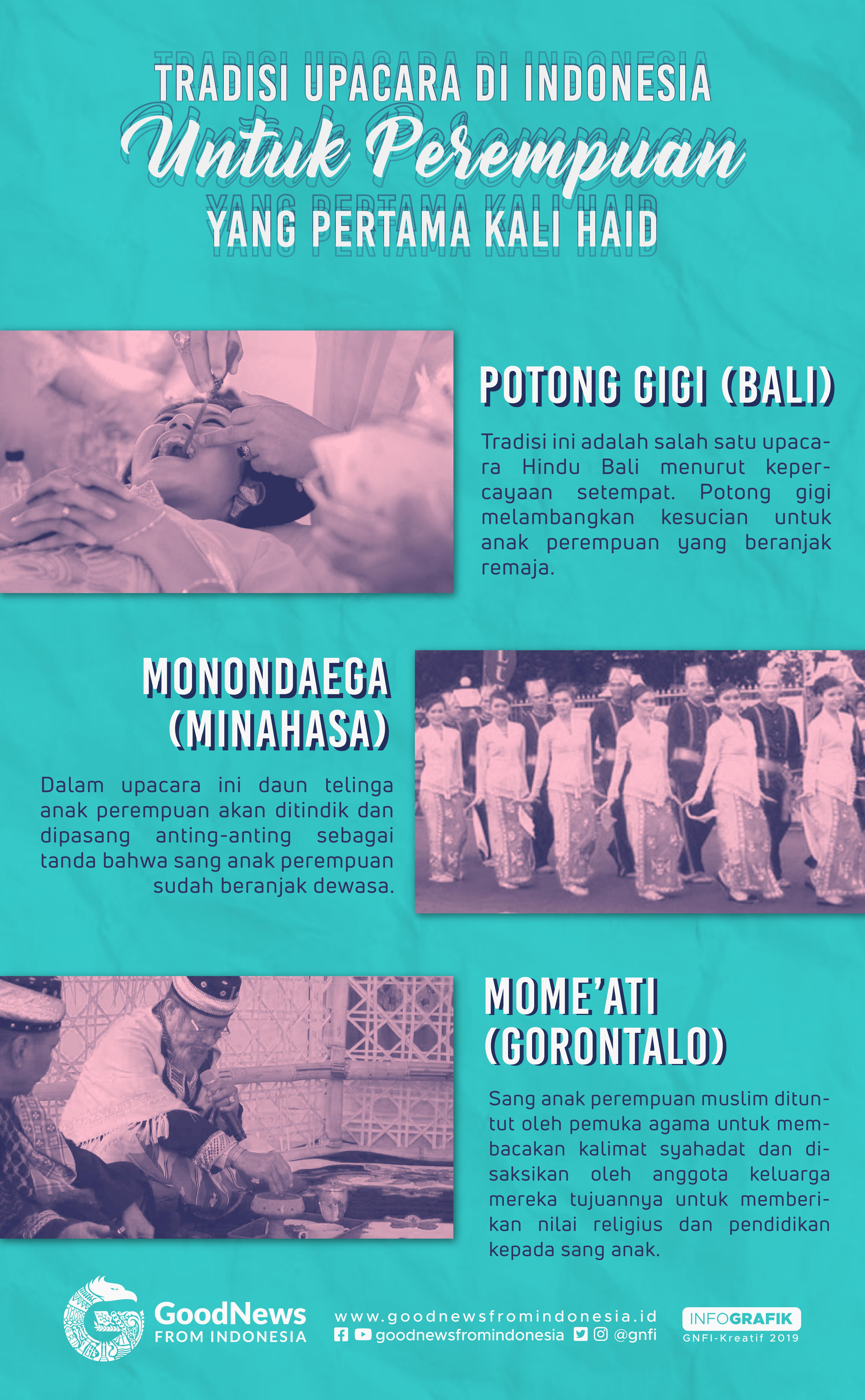 Tradisi Perempuan Haid di Indonesia