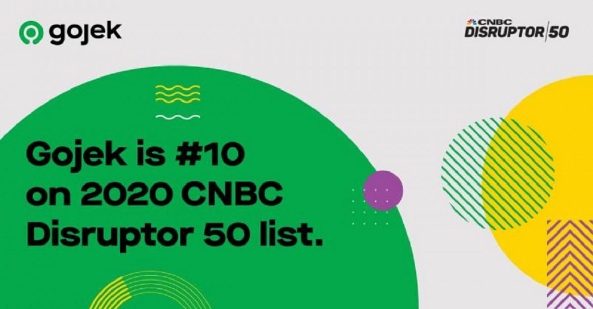 Gojek Masuk 10 Besar Disruptor 50 CNBC
