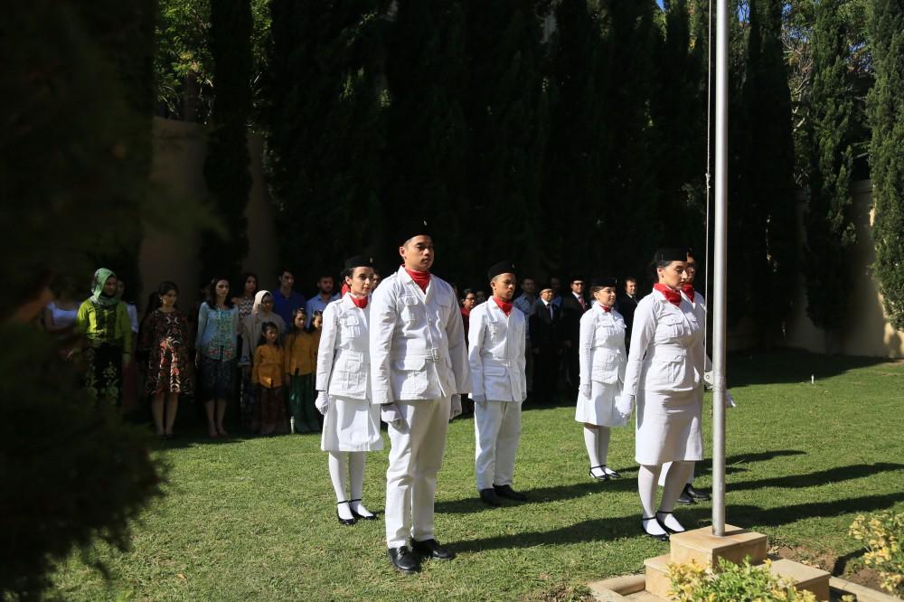 Gebyar Perayaan Kemerdekaan Indonesia Ke-74 dari Baku