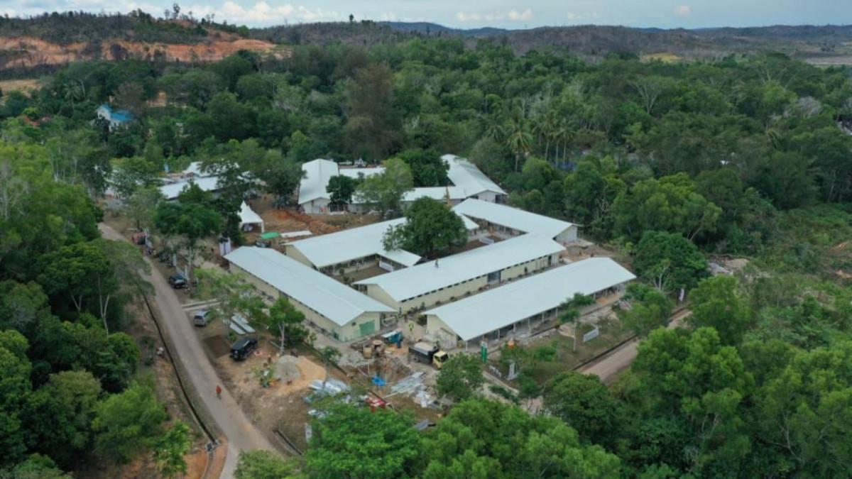 Rumah Sakit Darurat Corona Pulau Galang Resmi Dioperasikan