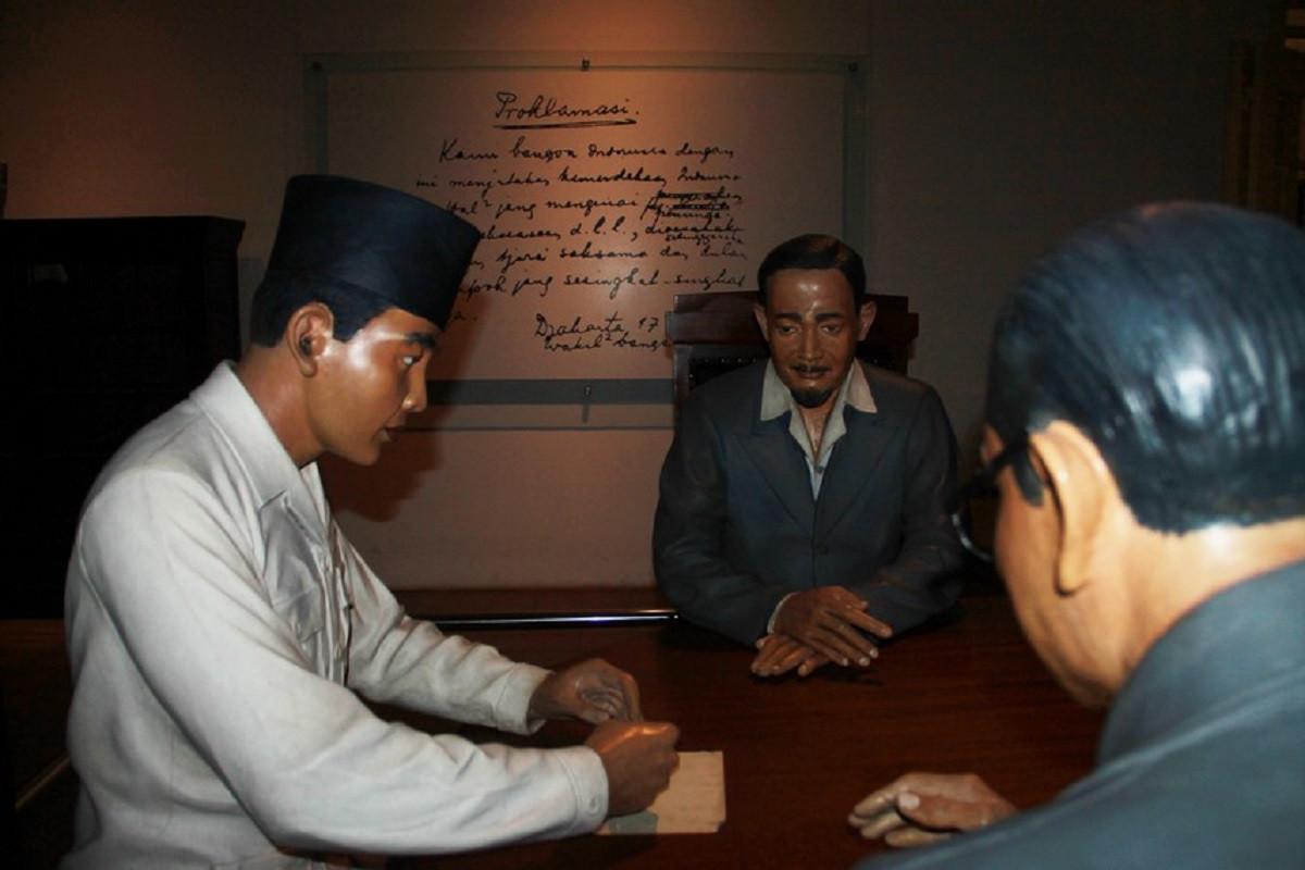Menggali Sejarah Perumusan Naskah Proklamasi di Rumah Laksamana Maeda