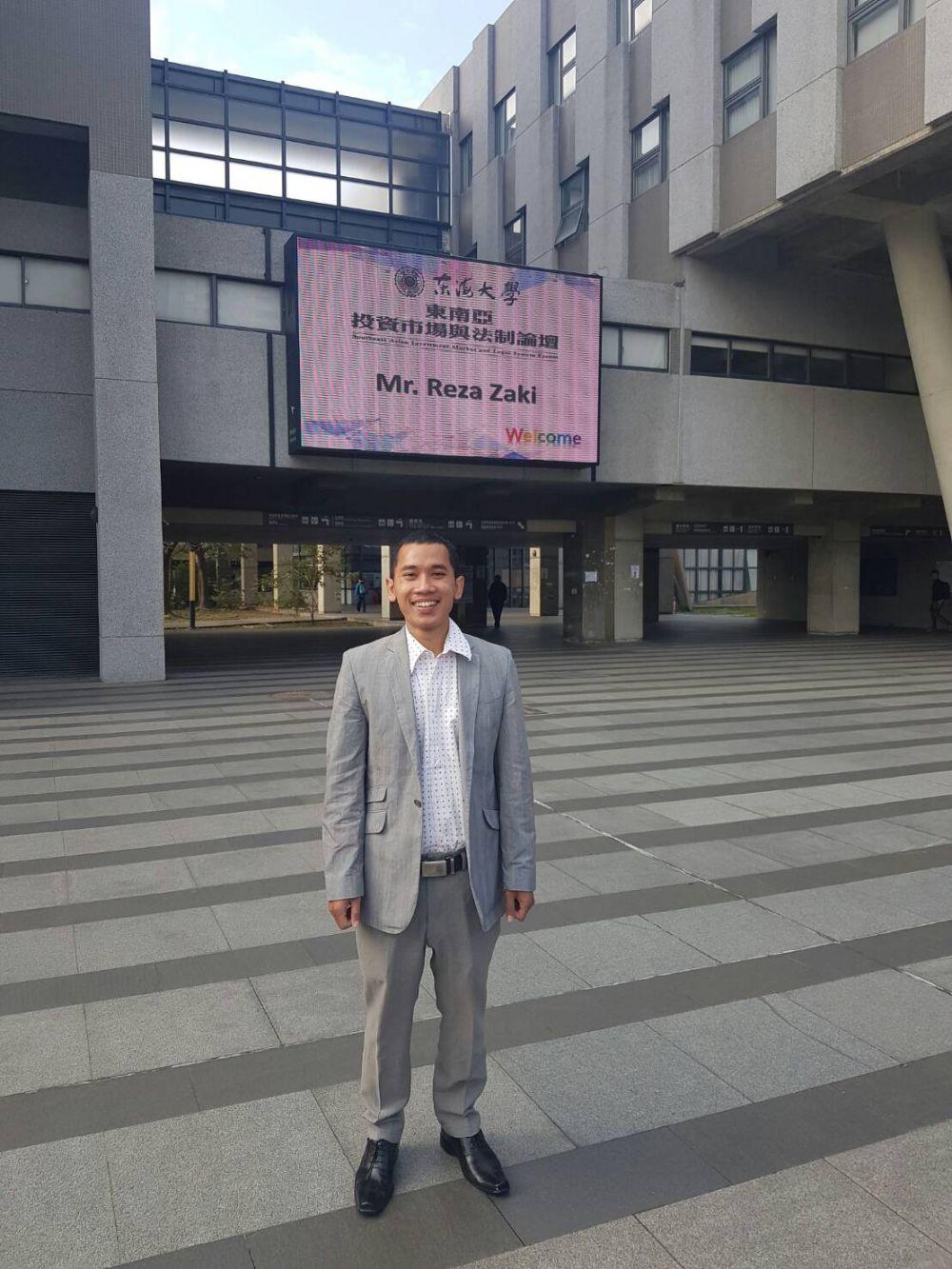 Belum Genap 28 Tahun, Zaki Jadi Wakil Rektor Termuda Indonesia