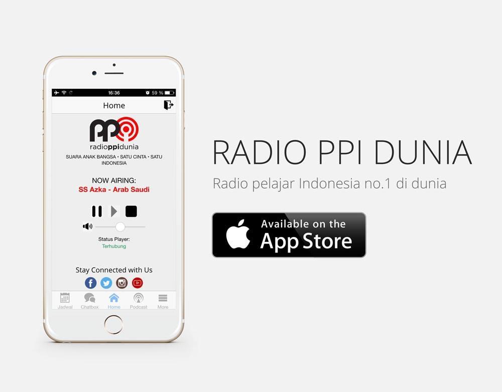 Doa bersama Peluncuran App Resmi Radio PPI Dunia