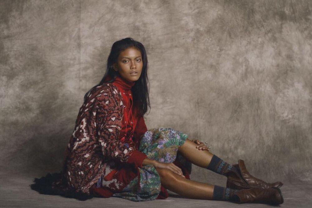 Laras Sekar, Model Indonesia yang Mendunia
