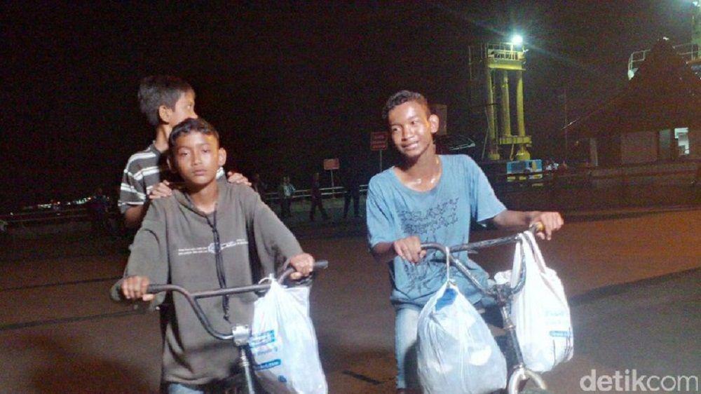 Bermodal Rindu, Tiga Bocah Bersepeda dari Sumsel ke Tangerang Demi Lebaran Bersama Ibu