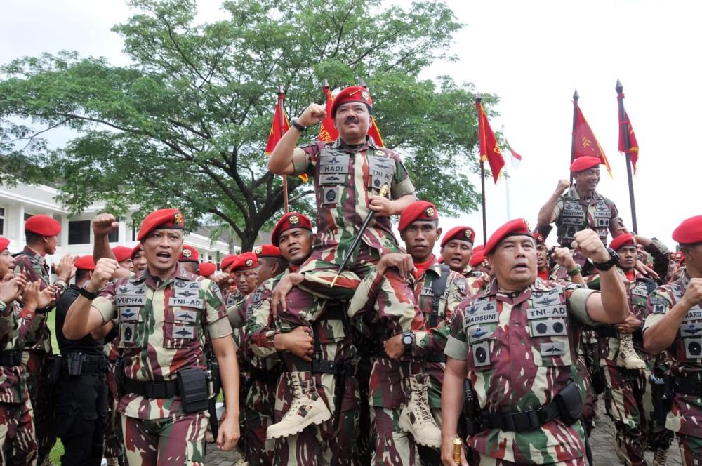 Pasukan Elite TNI Siapkan Taktik Perang Kota Basmi Terorisme