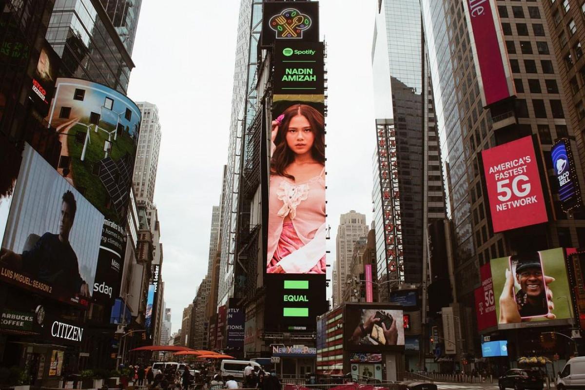 Keberhasilan Karya Kreatif Indonesia yang Kerap Hiasi Billboard Times Square New York