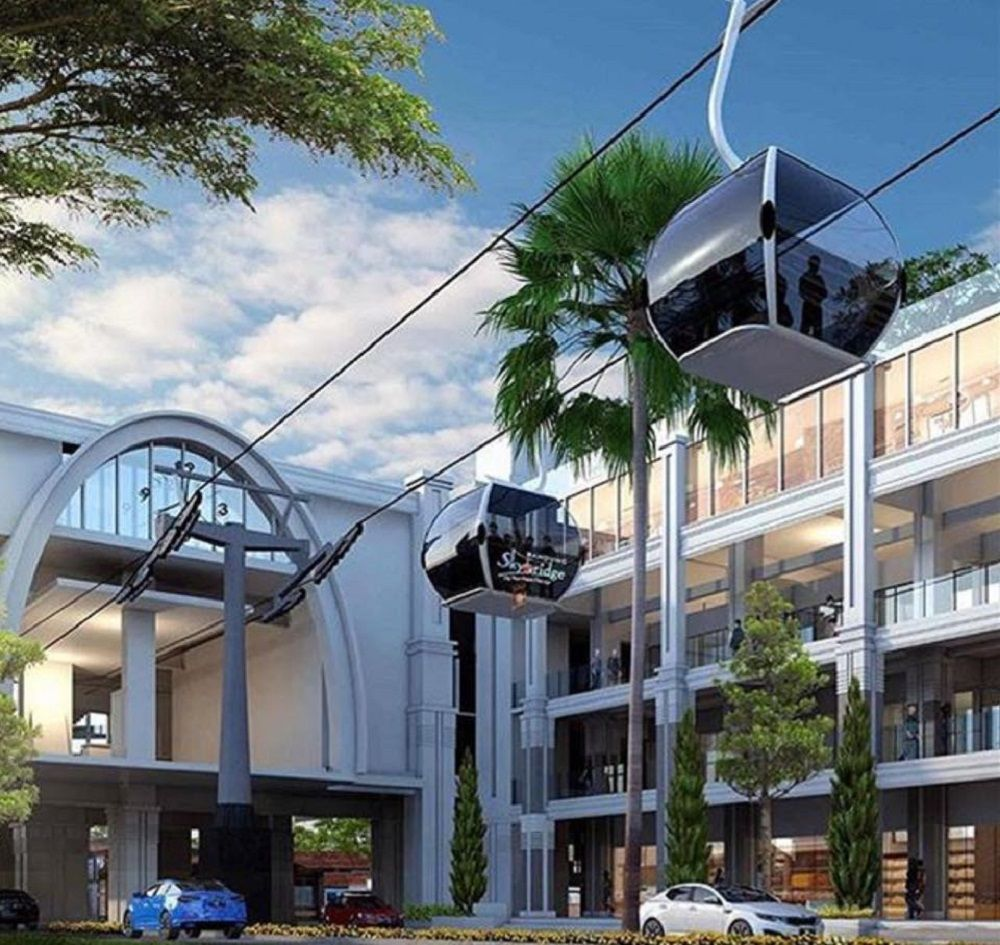 Skybridge, Transportasi Masa Depan Kota Bandung