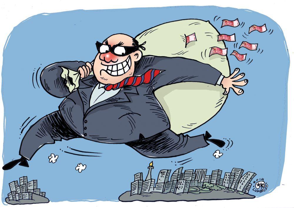 Korupsi Menular pada yang Tak Bermoral