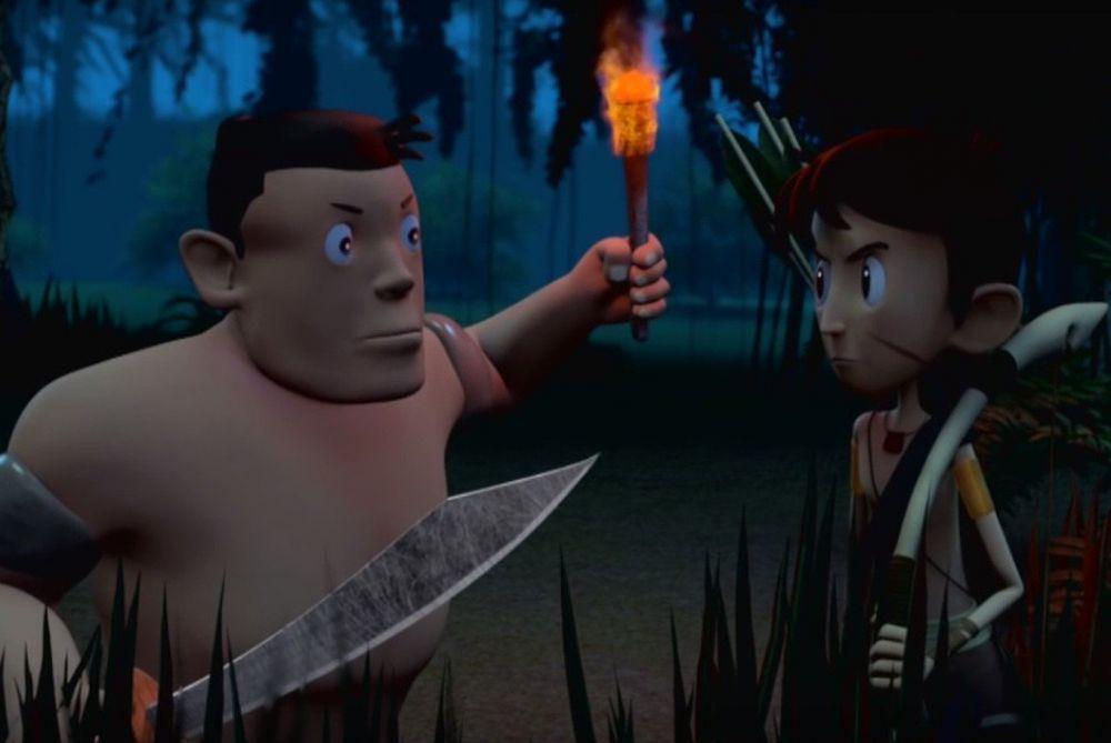Film Animasi Dongeng Indonesia Buatan Siswa SMK dari Kudus