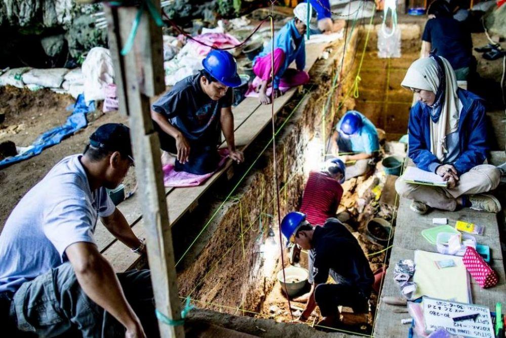 Sebuah Bukti Kekayaan Budaya Manusia Purba Di Asia Tenggara Ada Di Indonesia Good News From Indonesia