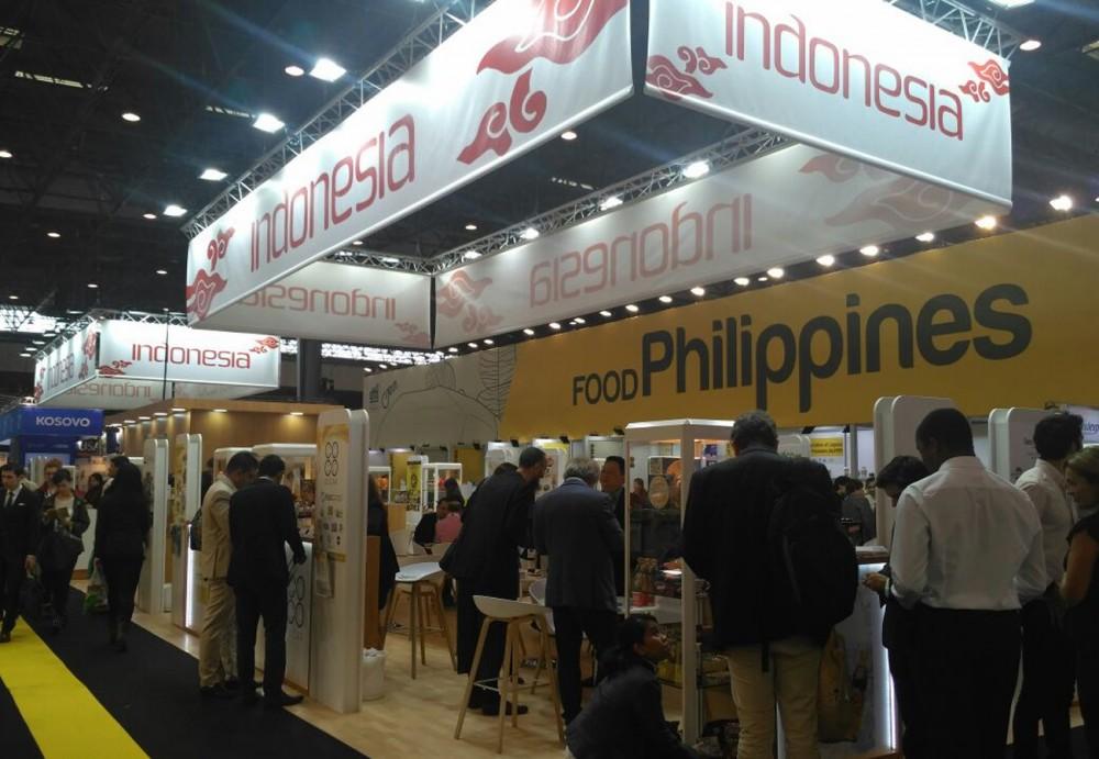 18 Produsen Makanan Indonesia Ramai Pengunjung di Salon International d'Alimentation