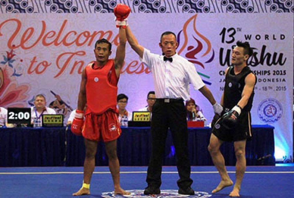 Mahasiswa UNNES Juara Wushu Dunia
