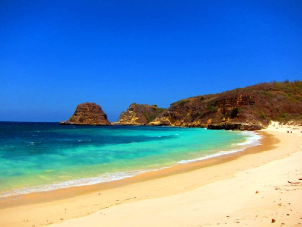 365Indonesia Day 38 - Another View of Bloam Beach, Southeast Lombok, West Nusa Tenggara