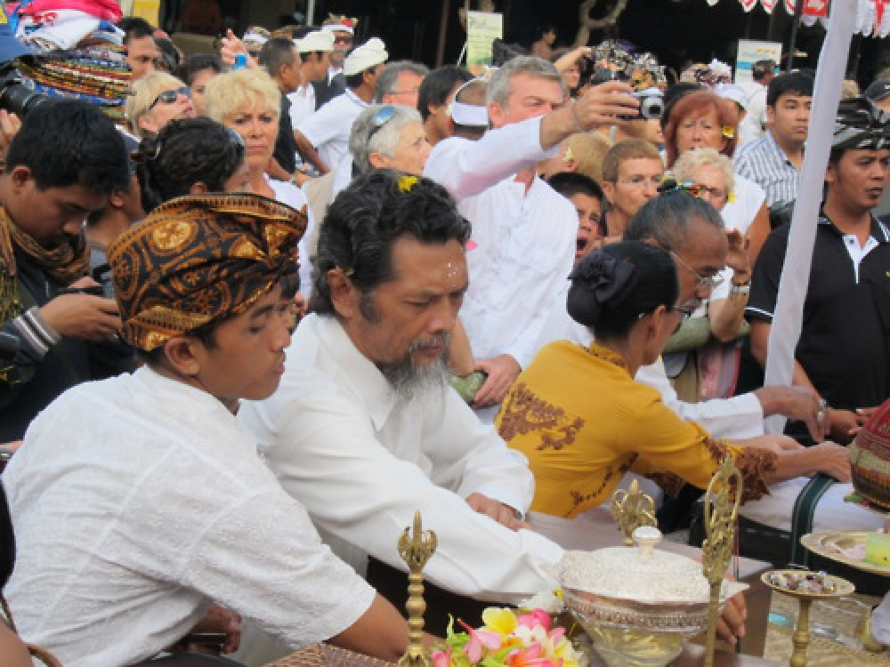 365Indonesia Day 44 - A Ritual in Plebon Ceremony, Ubud - Bali