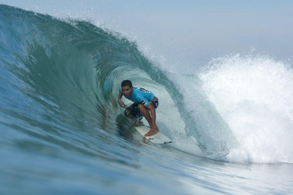 The Winner of Bali International Surfing Tournament