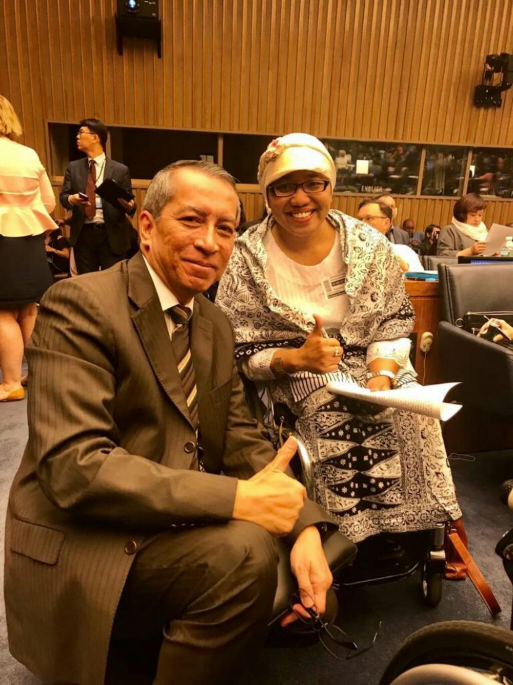 Perempuan Asal Gunungkidul ini Jadi Anggota Komite Hak Penyandang Disabilitas PBB