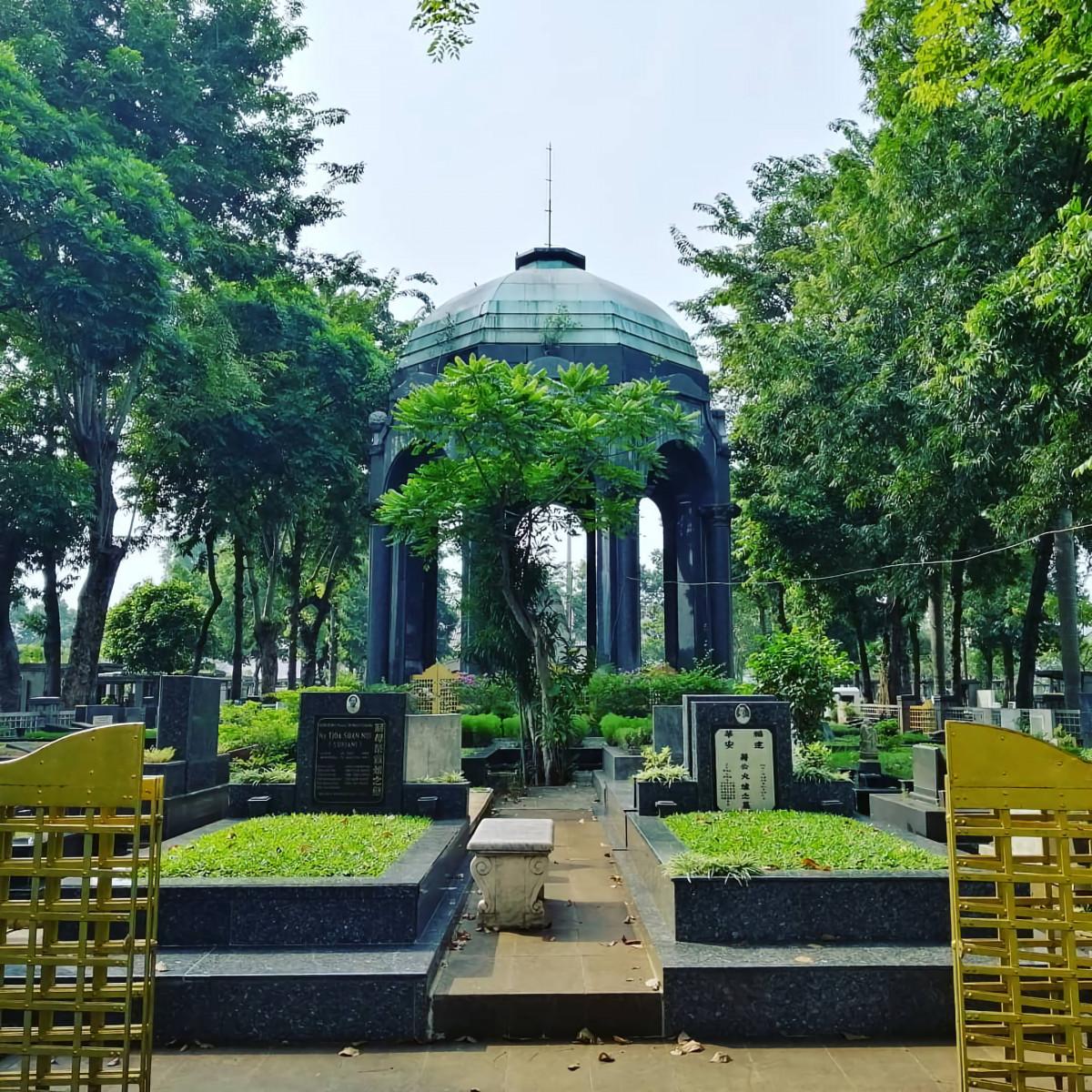 Bukti Cinta di Balik Kemegahan Mausoleum OG Khouw Petamburan