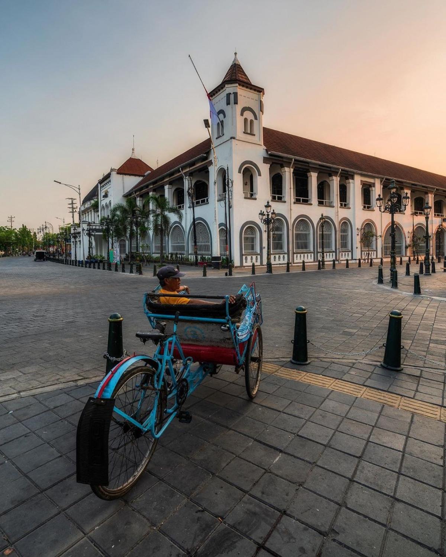 Menjelajah Sisi Lain Outstadt, Visual Eropa Klasik dalam Kapsul Histori Kota Tua Semarang