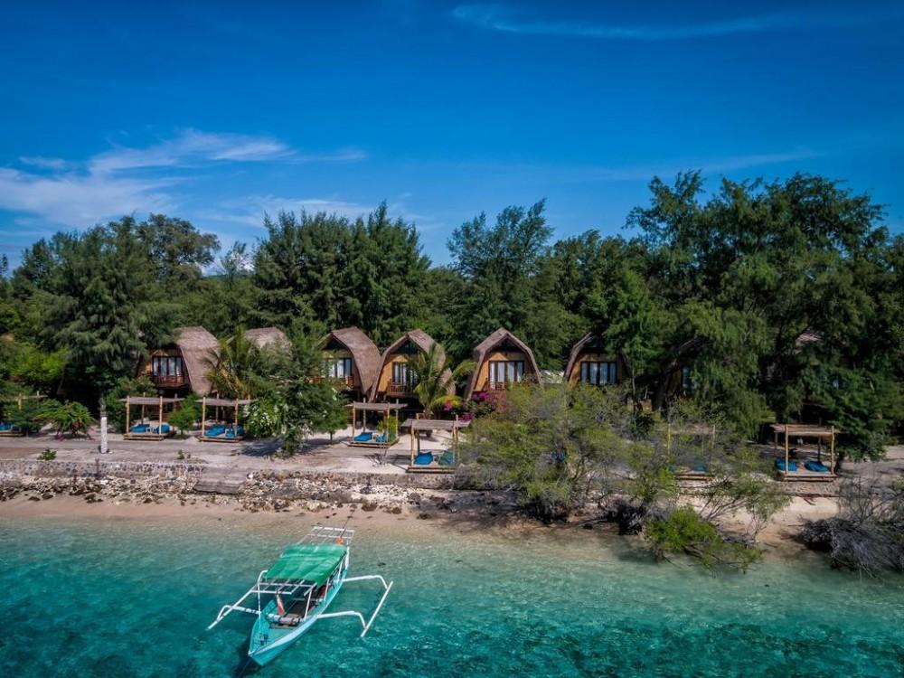 Menyajikan Keindahan dari Gili Meno di Pulau Lombok