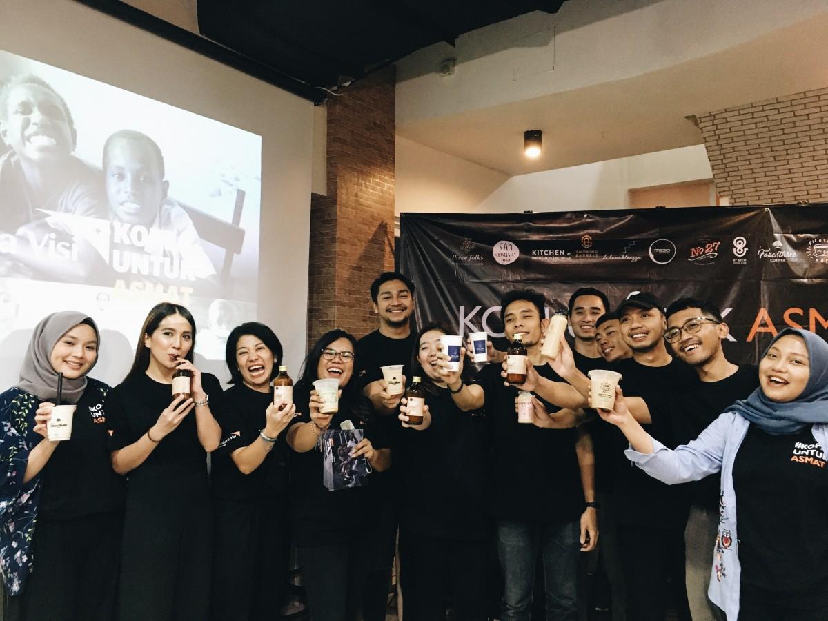 Kopi Untuk Asmat : WVI Gandeng Coffee Shop Indonesia Untuk Berdonasi