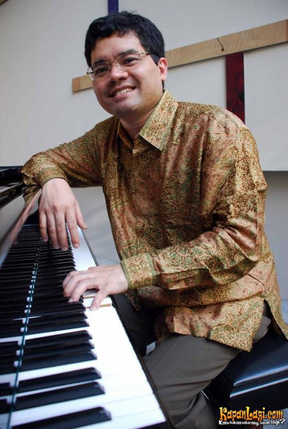 A Great Pianist from Indonesia