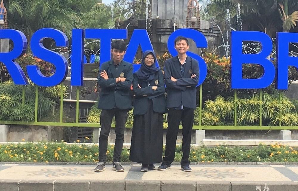 Tiga Mahasiswa UB Temukan Manfaat Ampas Tebu, Untuk Netralisir Limbah Logam Berat