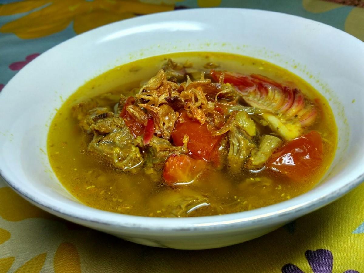 Angeun Lada, Kuliner Wajib Perayaan Besar