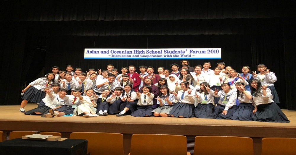 Indonesia Hadir dalam Asian and Oceanian High Schools' Student Forum 2019