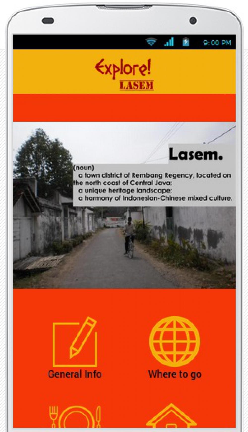 Aplikasi Ponsel untuk Wisata di Pecinan Lasem, Jawa Tengah