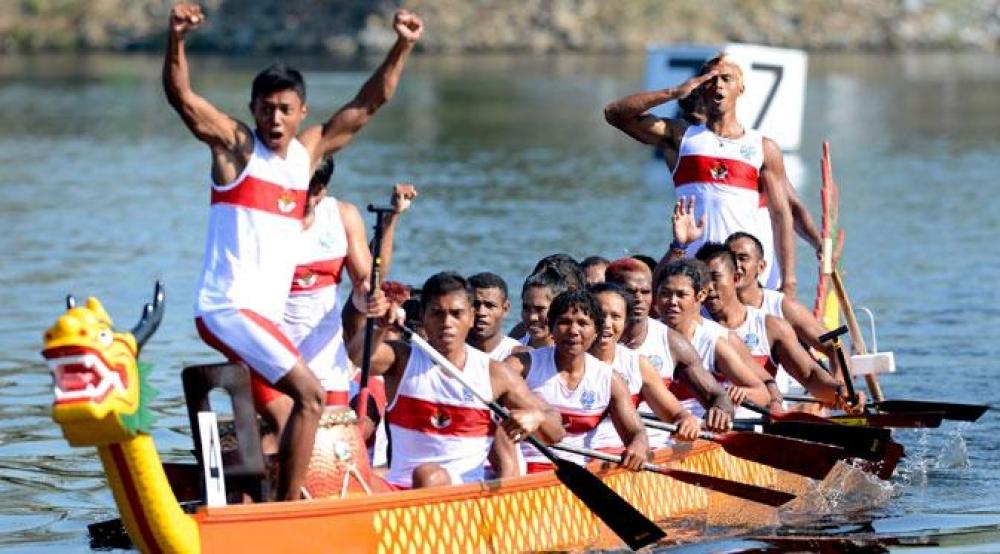 Atlet Dayung Indonesia Raih Dua Emas di China