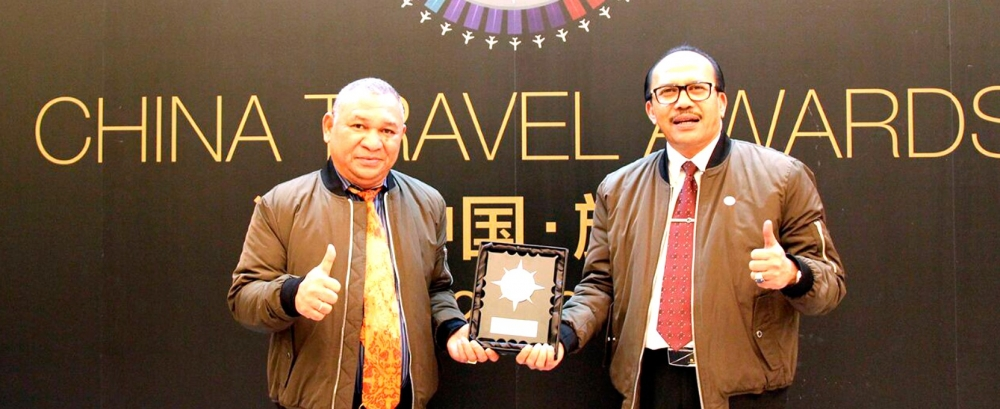 """Indonesia famous next destination"" awarded by China Travel and Leisure"