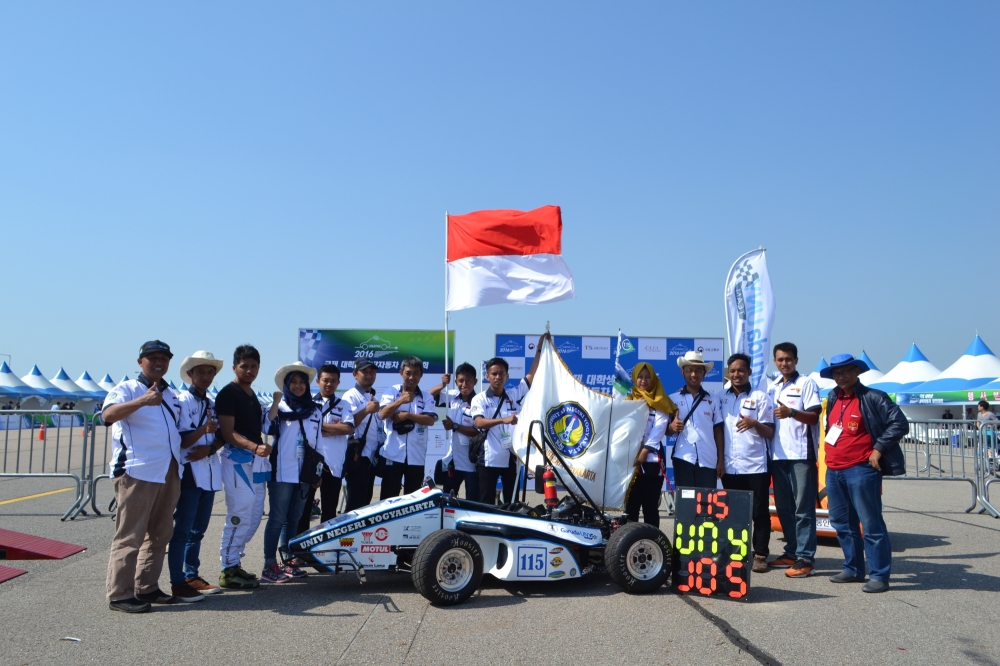 Mobil Hybrid dari Jogja ini Catat Rekor Tercepat Sepanjang Sejarang ISCC Korea Selatan