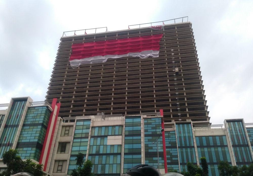 Merah Putih Raksasa Hadir di Tangerang