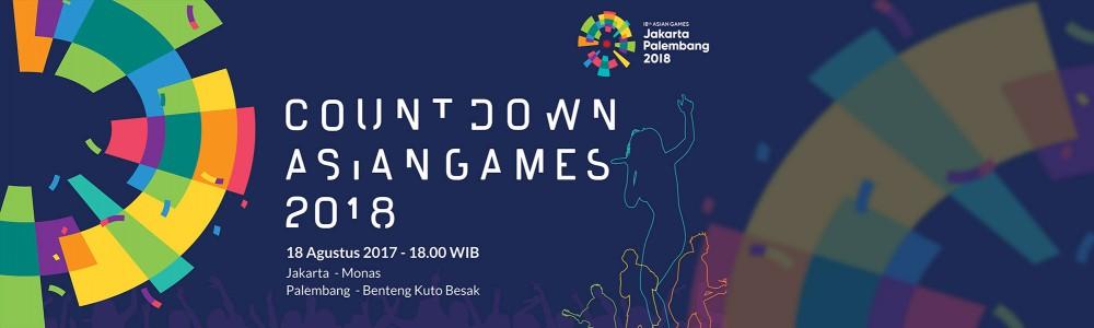 Spektakuler! Kemeriahan Countdown Menuju Asian Games 2018