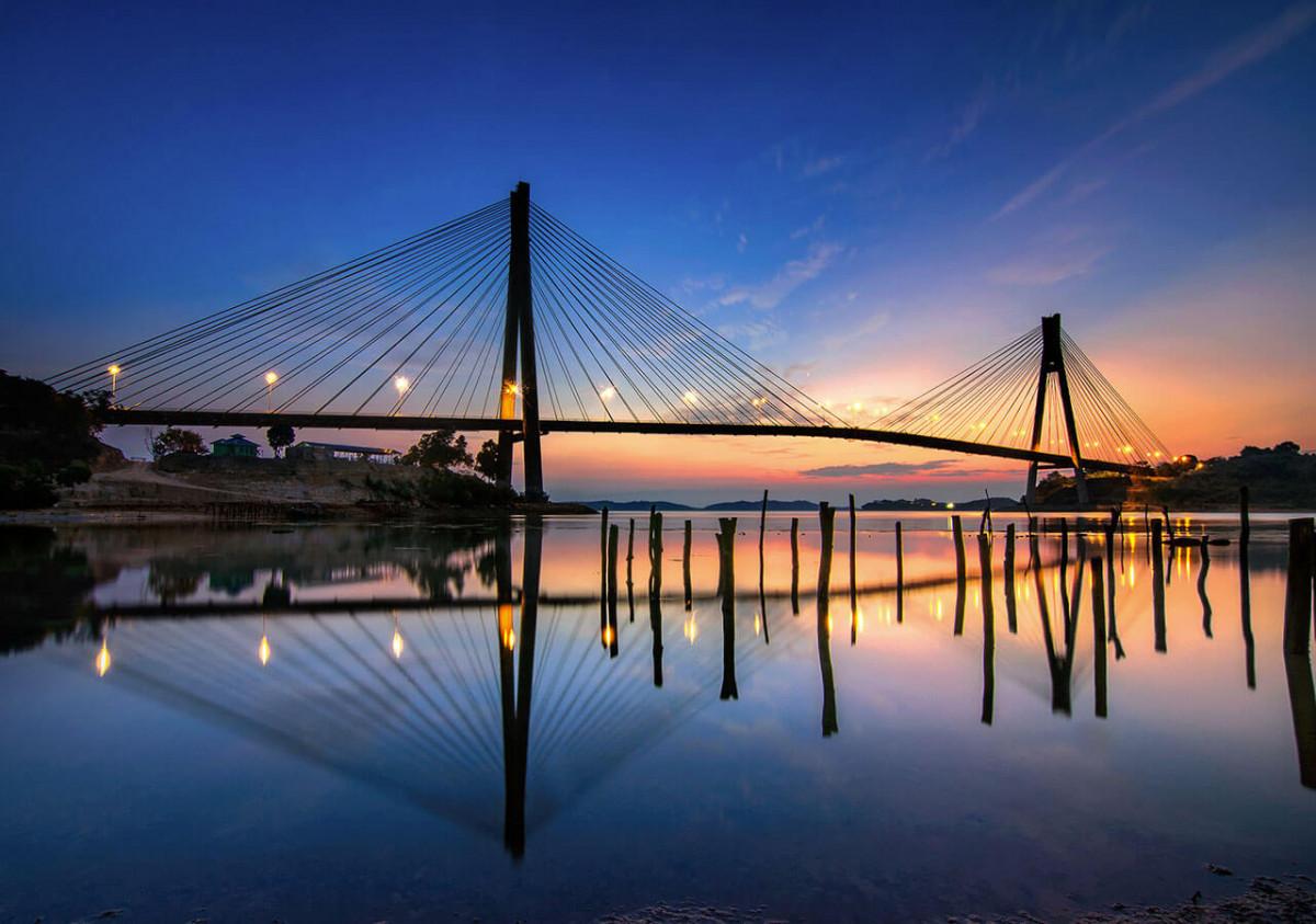Mengintip Megahnya 5 Jembatan Terpanjang di Sumatra
