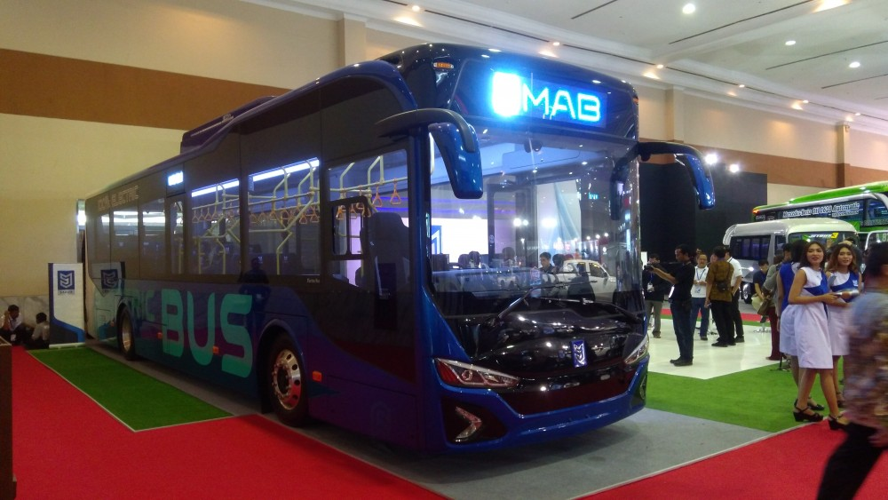 Perkenalkan, MAB: Bus Listrik Pertama di Indonesia