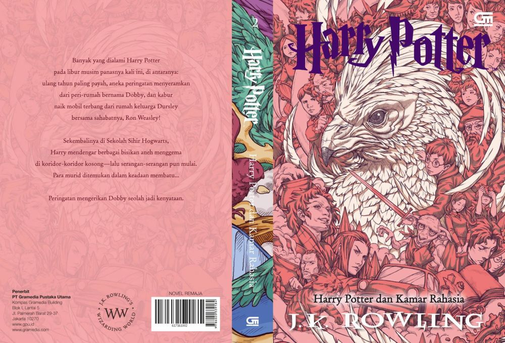Sampul Baru Buku Harry Potter Edisi Bahasa Indonesia Versi Nicholas Filbert, Hadir Bulan Maret