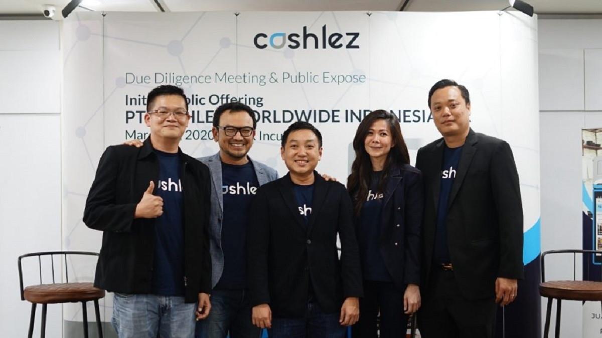 Startup Fintech Cashlez Resmi IPO