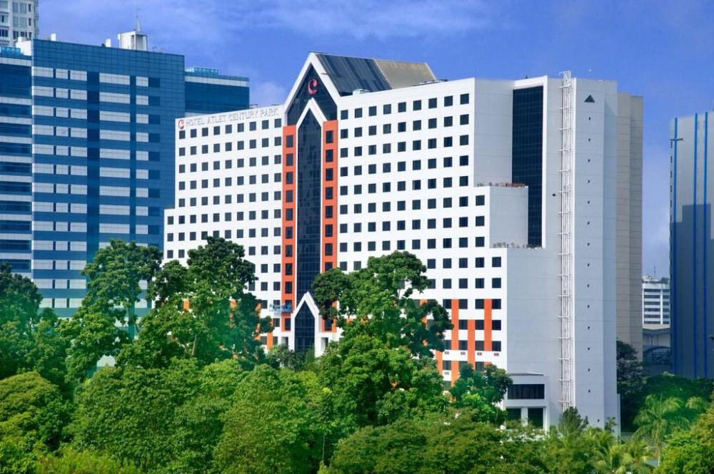 Atlet Century Park Hotel Jakarta