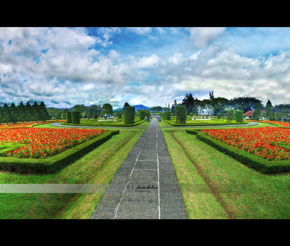 Indahnya Taman Bunga Nusantara Cianjur Bogor