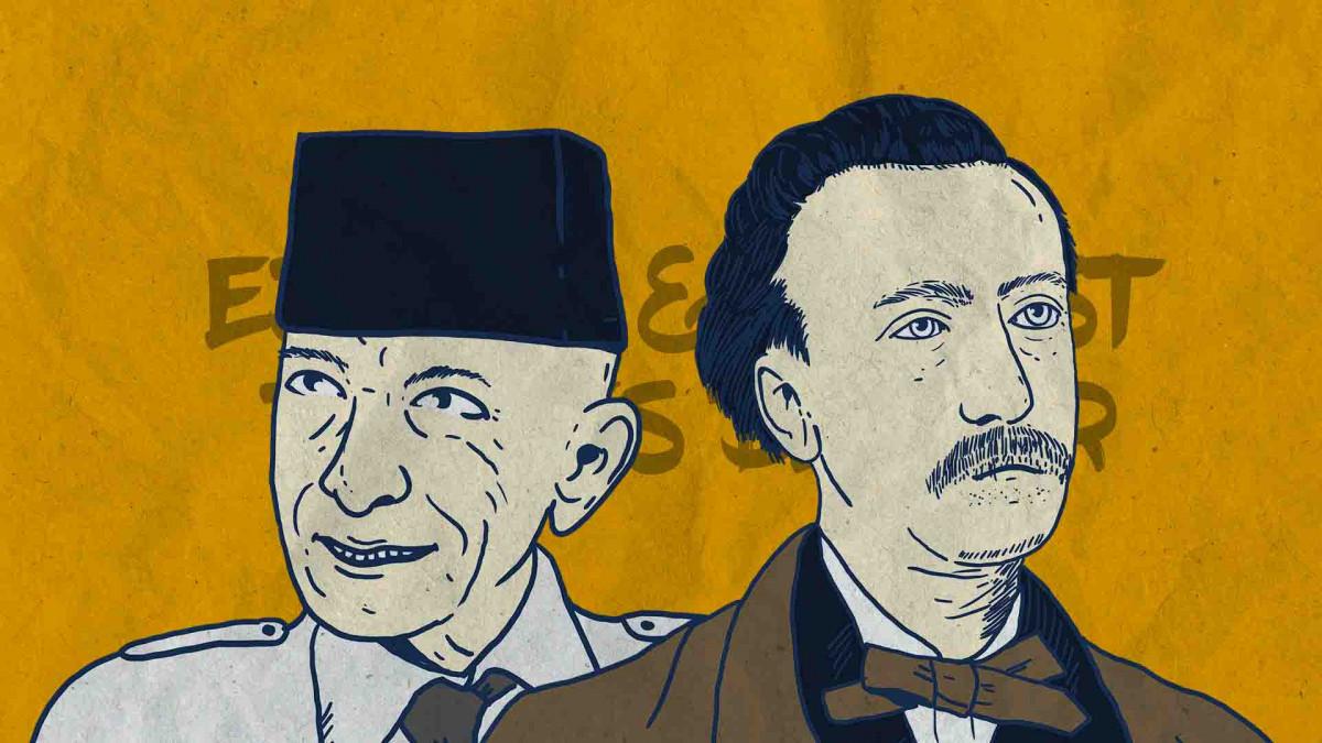 Eduard dan Ernest Douwes Dekker, Nama Sama Beda Persona