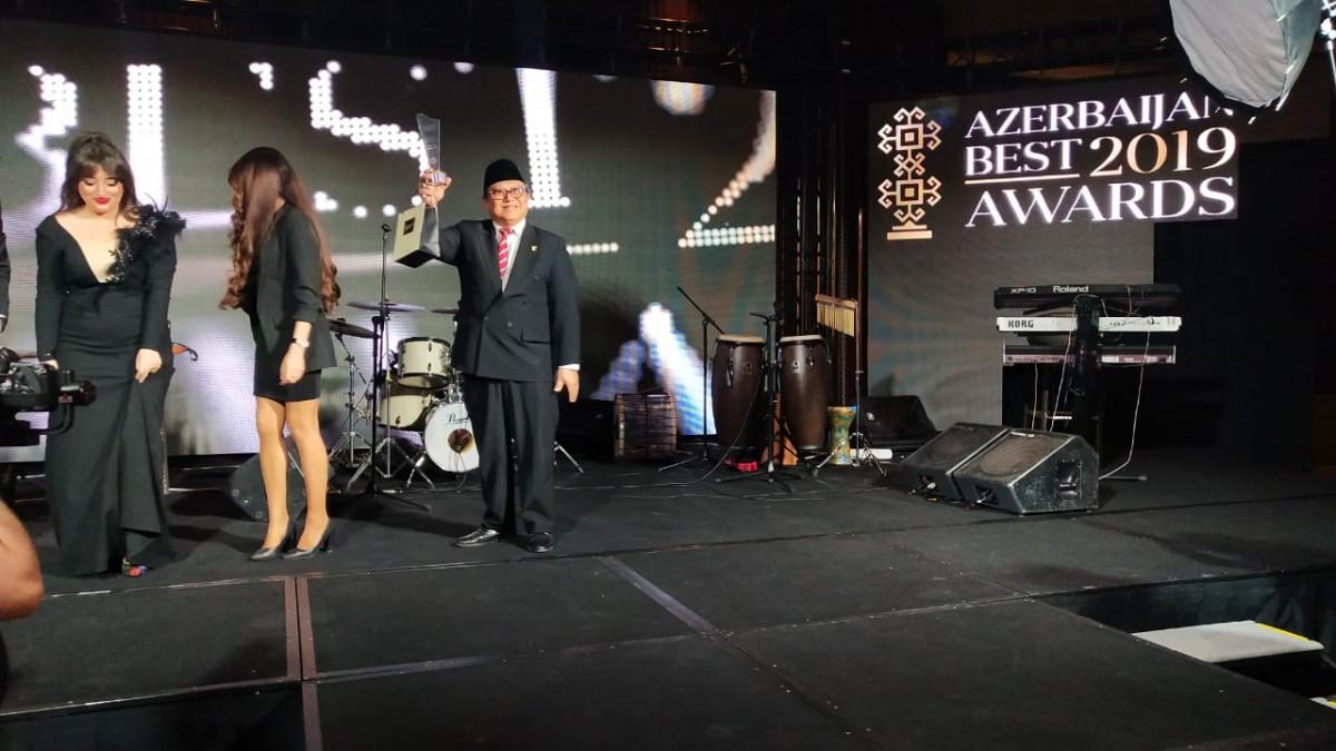 Dubes RI di Azerbaijan Menang Penghargaan Lagi!
