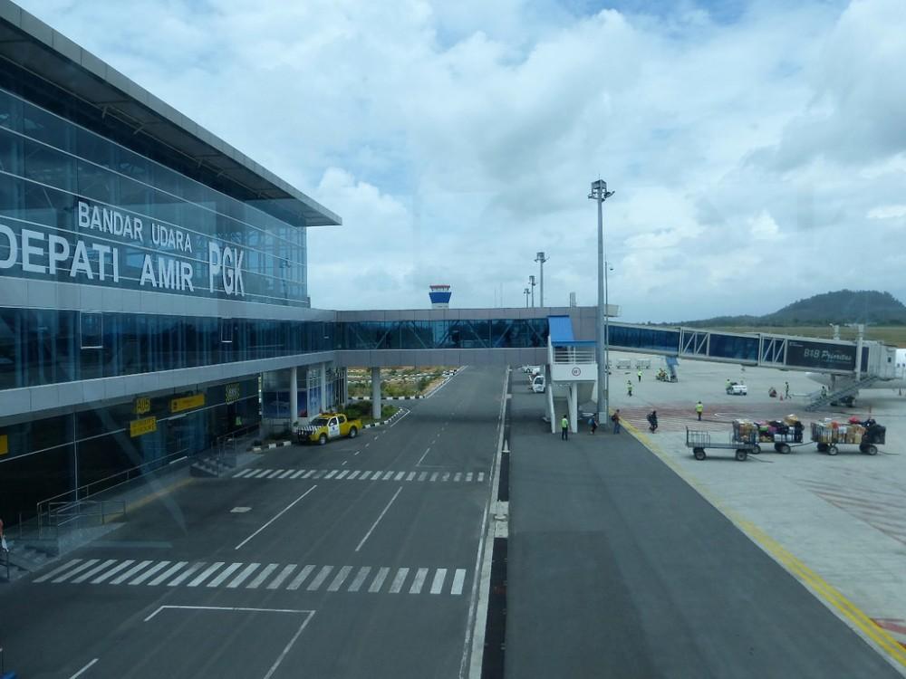 Bandara Depati Amir Terus Diperluas